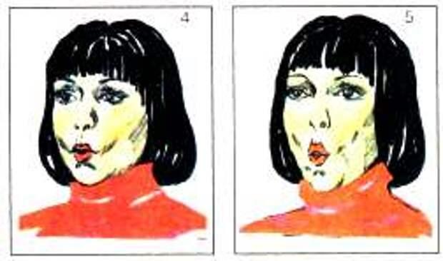 Упражнения на мышцы лица