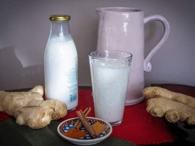 Жиросжигающий целебный напиток - кефир, имбирь, корица: очищение, похудение, омоложение.