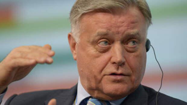 Президент ОАО Российские железные дороги Владимир Якунин, архивное фото