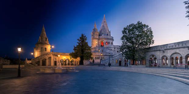 Смена дня и ночи: панорамные виды Будапешта