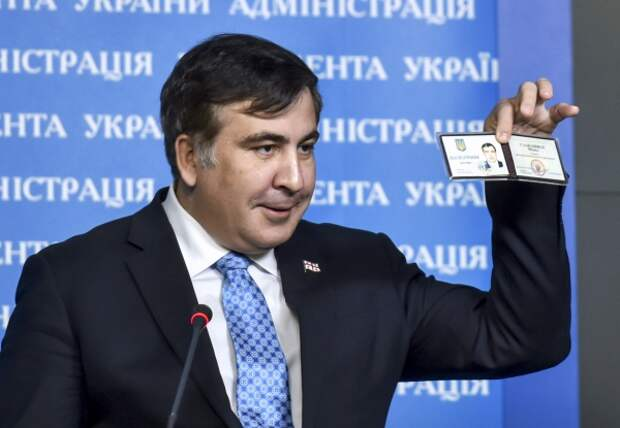 Саакашвили намерен вернуться в Грузию, несмотря на лишение его гражданства