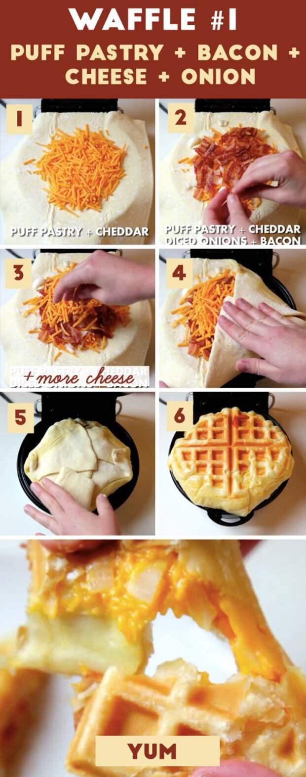 5 идей для вафельницы