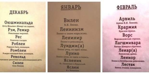 Советские имена в честь Ленина / Фото: onedio.ru