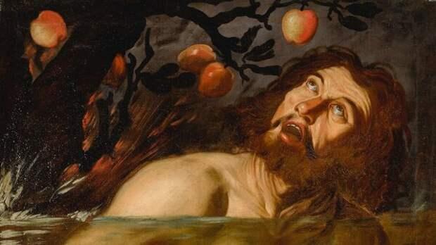 Фрагмент картины последователя Караваджо (1571–1610)