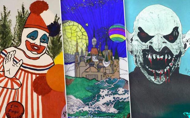 Картины, нарисованные серийными убийцами