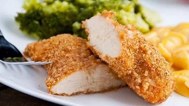 Мясо, обжаренное в кукурузном крахмале, получается с вкусной и хрустящей корочкой / Фото: hagga.ru