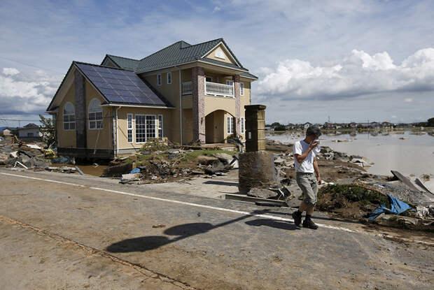 Что наделал в Японии тропический шторм