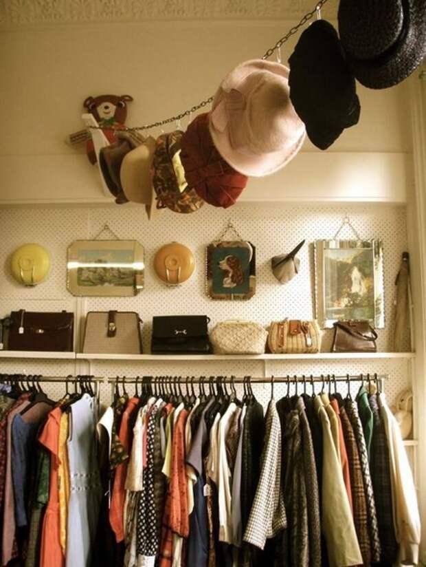 Идея хранения шляп