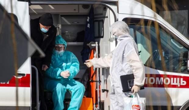 В России суточный прирост заразившихся COVID-19 составил 8,1 тысячи