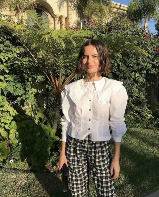 С чем носить рубашку с удлиненным воротником? /Фото: ae01.alicdn.com