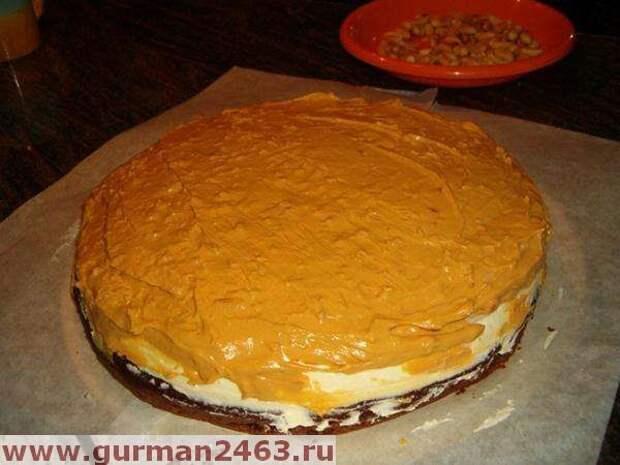 Торт сникерс - пошаговый рецепт