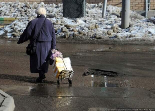 Весенние дороги России (18 фотографий), photo:11