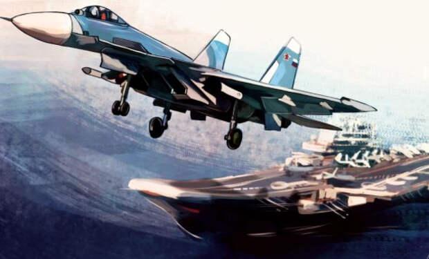 Капитан первого ранга рассказал, почему «Адмирал Кузнецов» так сильно пугает Запад