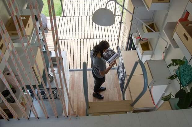 POD-Idladla - домик площадью 17 кв. метров.