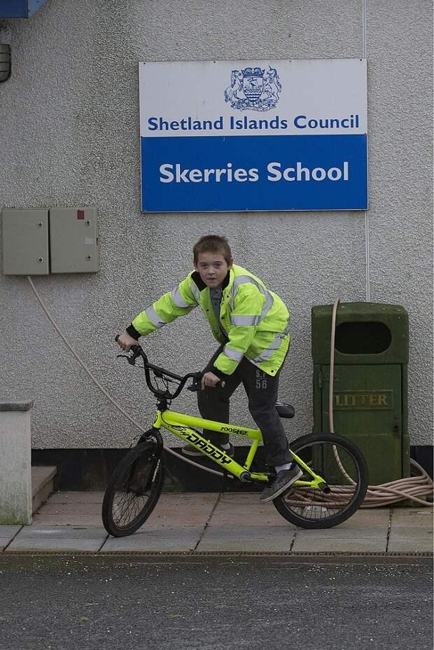 Самый одинокий британский школьник