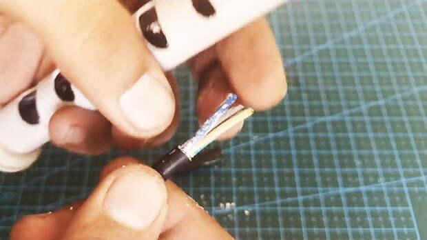 Как сделать эффективный съемник изоляции для проводов
