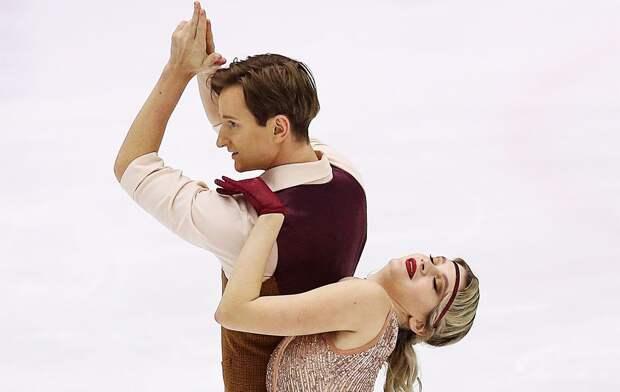 Скопцова/Алешин выиграли этап Кубка России в Казани в танцах на льду