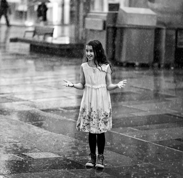Как снимать под дождем?