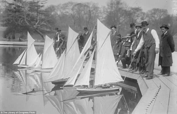 Модели парусных яхт