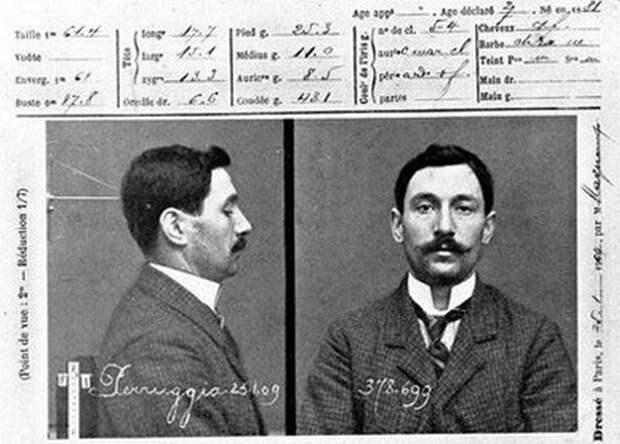 Эдуардо де Вальфьерно укравший Джоконду аферы, мошенники