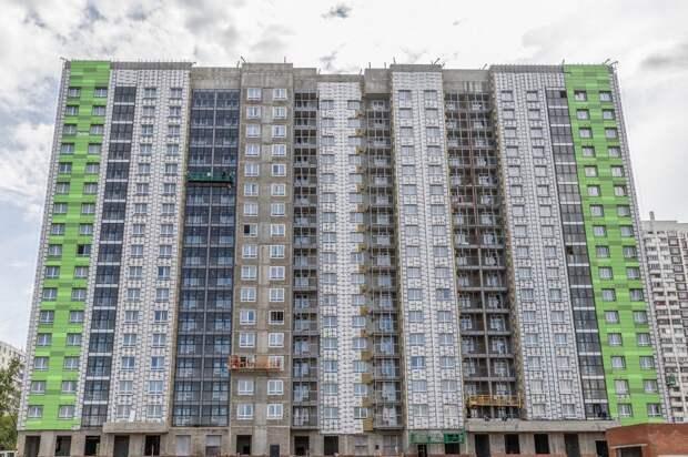 Третью новостройку в Северном Тушине передадут под заселение до конца года