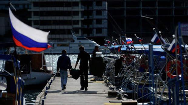 Турпоток в Крым снизился на 11 процентов