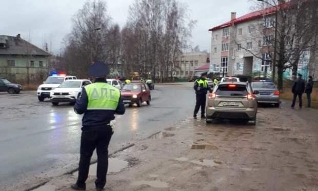 На югеАрхангельской области затри дня задержали 75 нетрезвых водителей