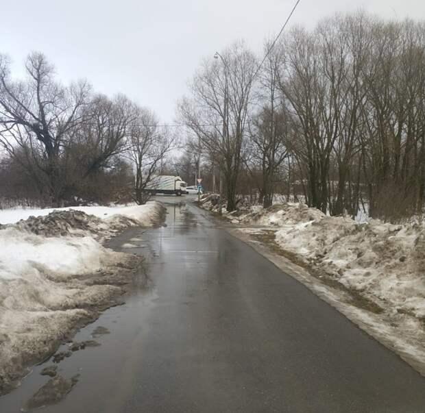 «Реку» на Молжаниновской осушили коммунальщики