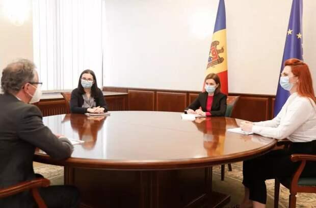 Что Майя Санду обсудила с главой Миссии ОБСЕ в Молдове