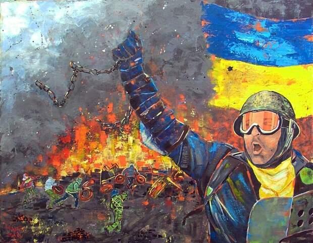 Украинские боевики объявили мобилизацию на новый Майдан