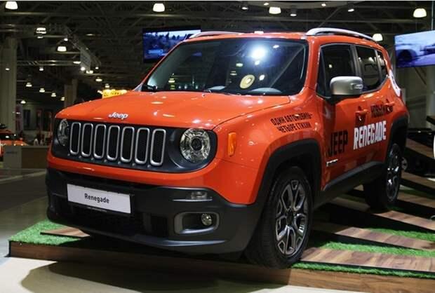 Стенд компании Jeep.