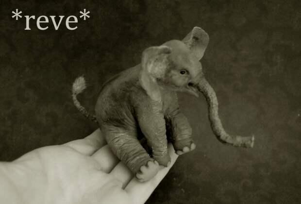 Миниатюры животных из полимерной глины!