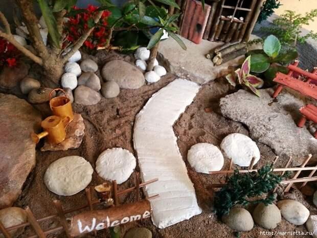 Миниатюрный сад своими руками (36) (700x525, 345Kb)