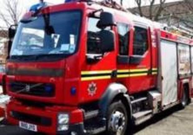 Пожар произошел в историческом здании в Лондоне
