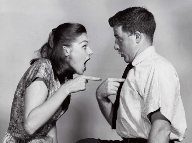 Не кричите друг на друга