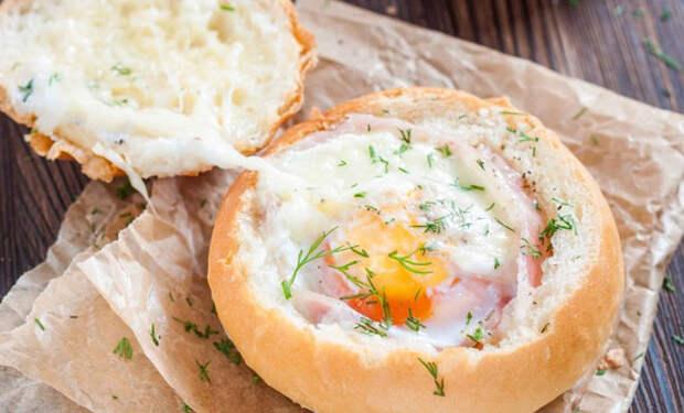 Горячий хлебный перекус: жарим за минуту и наслаждаемся
