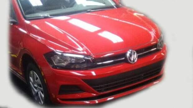 Новый VW Polo седан – шпионские фотографии