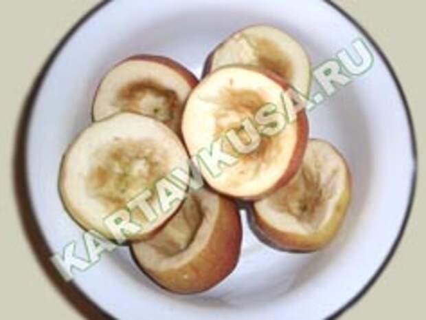 запеченные яблоки в духовке | приготовление - 1 шаг