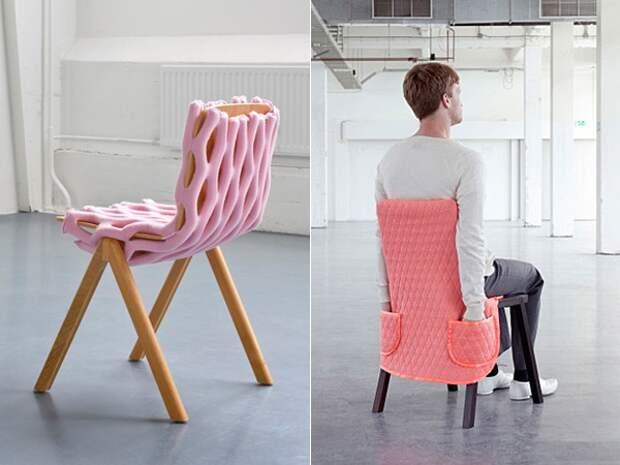 Bernotat & Co - необычные чехлы на стулья