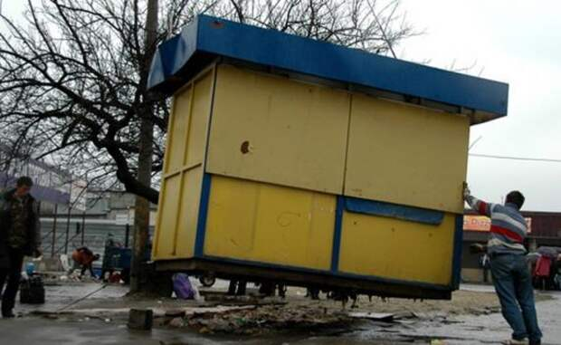 Сколько ларьков планируют снести в Севастополе?