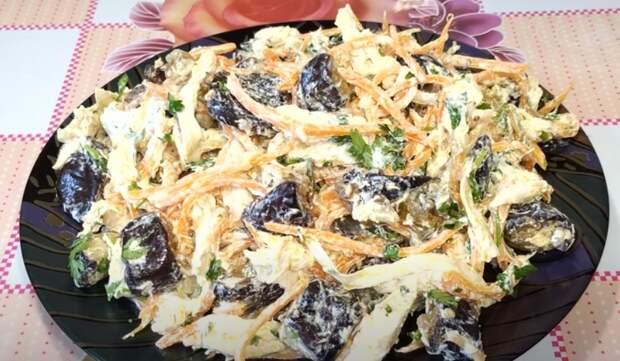 Самый вкусный и простой салат из баклажанов. Ароматное и аппетитное блюдо
