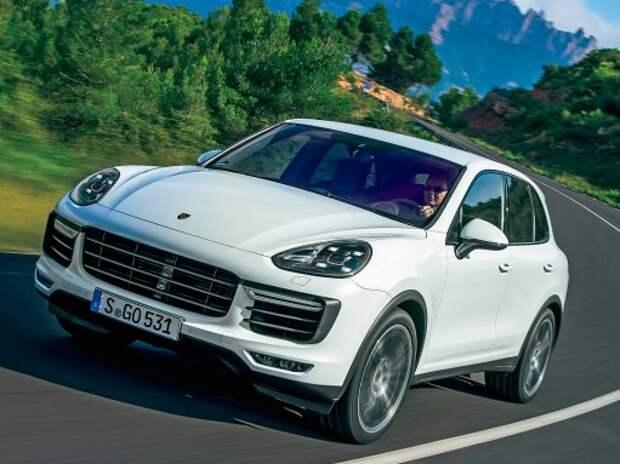 Обновленный Porsche Cayenne: турбомарш