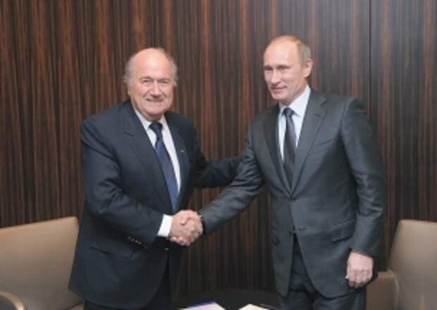 Путин: «Аресты в ФИФА не коснутся ЧМ-2018 в России»