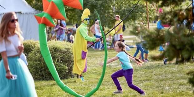 В парках Москвы открылись творческие и спортивные программы для детей — Сергунина. Фото: mos.ru