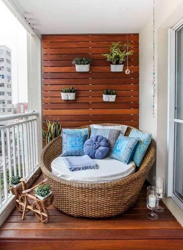 Плетеное кресло на балконе - что может быть уютнее? дизайн, креатив, своими руками