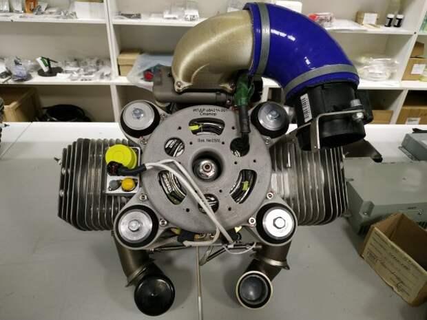 Двигатель АПД-50 на основе Zanzottera 498Hs