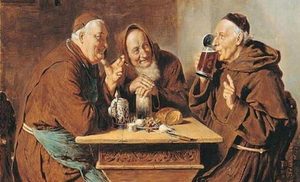 Когда и зачем люди начали пить пиво?