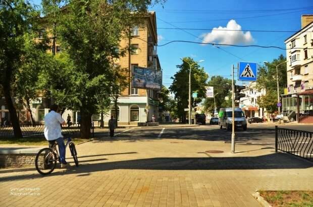 Донецк в августе
