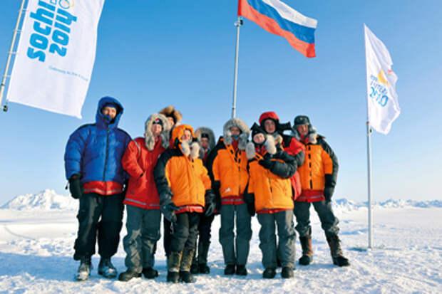 Третьей молодёжной экспедиции «На лыжах – к Северному полюсу» и «Года Учителя»
