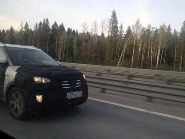 Hyundai Creta засекли на КАДе в Санкт-Петербурге